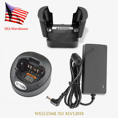 Rapid Charger For Motorola Radio Apx6000 Apx7000 Series Xts2500 Xts3000 Ht1000