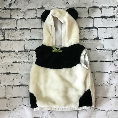 Panda Bear Costume Infant Toddler Sz 12Mos-3T 1Pc Warm Hooded Pull-Over - Panda Bear Toddler Costume