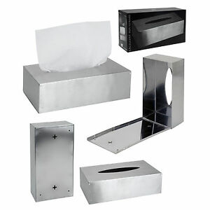 Kosmetiktücherbox Edelstahl Taschentuchspender Kosmetiktücher Taschentuchbox Box