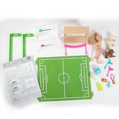 Barbie Dreamhouse Adventures Chelsea Soccer Playset Missing Pieces