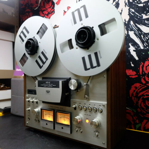 "Akai GX-630D Reel to Reel 10.5"" – 1/4"" Tape Deck 4 Track Recorder WATCH VIDEO"