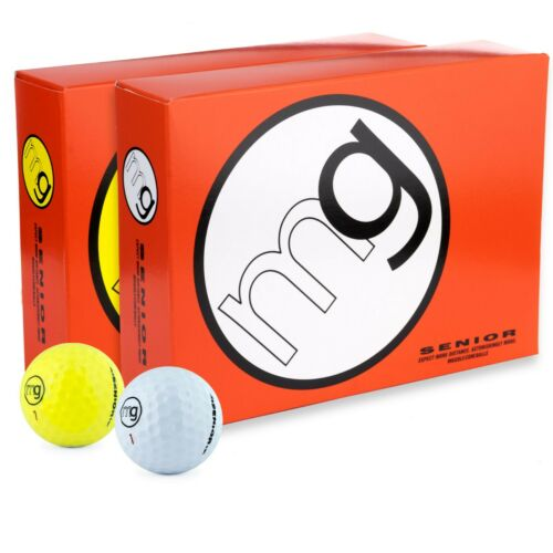 MG Senior 1-Dozen Golf Balls Longest with Speed, Distance, & Maximum Enjoyment.