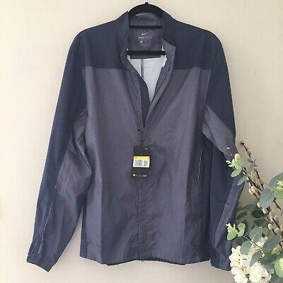 Nike Shield Jacket - Mens Size Small BNWT Blue Grey