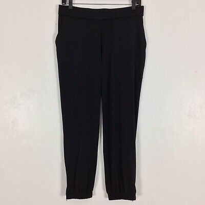 Lisa Rinna Collection Regular Banded Bottom Knit Crop Pants Size S Small (Collection Crop)
