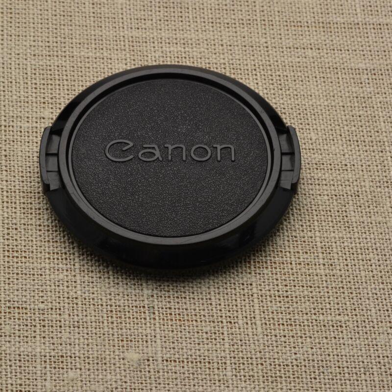 Retro Genuine Canon FD C 52mm Snap-On Front Lens Cap 50mm 1.8 (#1390)