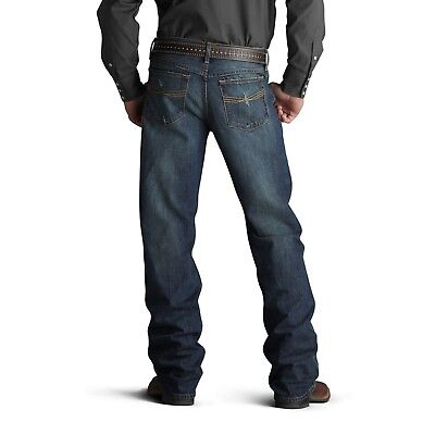 Ariat® Men's M4 Low Rise Tabac Relaxed Fit Boot Cut Jeans 10007775 (Low Rise Relaxed Fit Jeans)