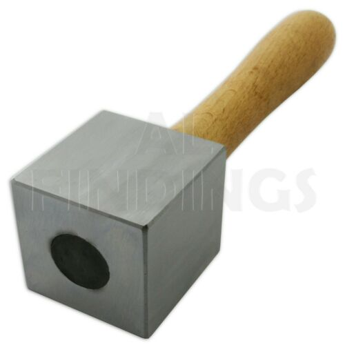 45mm  Square Head Stamping Mallet Hammers Jewellery Making Forming