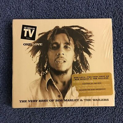 One Love: The Very Best Of by Bob Marley & the Wailers (CD, May-2001) Brand