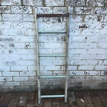 Rustic country chic green and cream ladder bit prop Leichhardt Leichhardt Area Preview