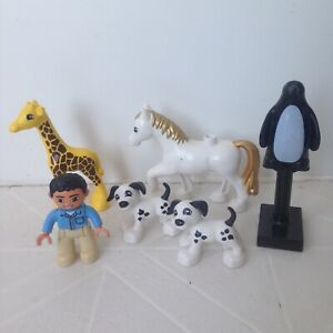 LEGO duplo figures and animals