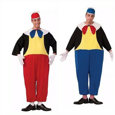 Tweedle Dum And Dee Costumes (Tweedle Dee and Tweedle Dum Costumes Adult Halloween Both included)