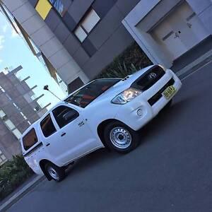 2010 Toyota Hilux KUN16R 3.0L Turbo Diesel Dual Cab Ute Petersham Marrickville Area Preview