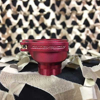 NEW Shocktech Feedneck Dye/Proto Clamping Feed Neck - Dust Red
