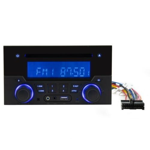 RecPro RV Stereo Entertainment Center CD/DVD/MP3 AM/FM Bluetooth - Wall Mount
