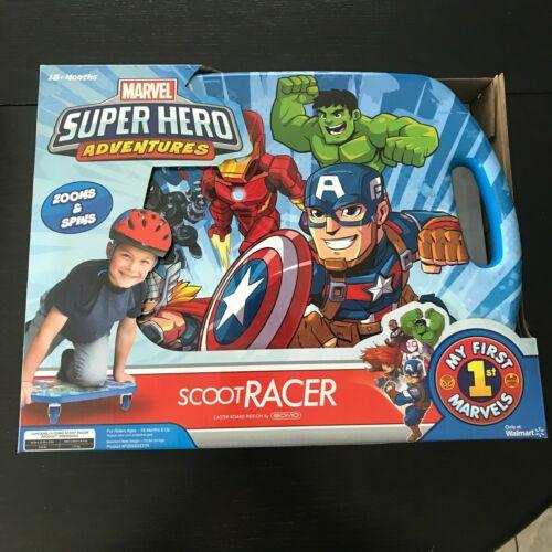 Marvel Super Heros Scoot Racer Ride On Caster Board