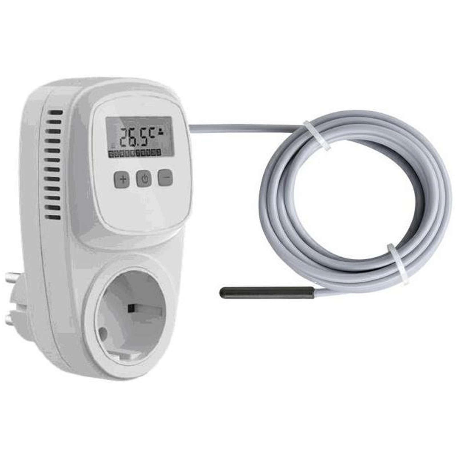 Universalthermostat Zwischenstecker Steckdosen Thermostat Heizen Kühlen Sensor