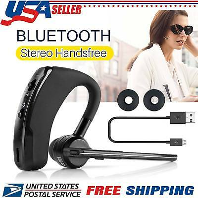 - Wireless Bluetooth Noise Cancelling Trucker Headset Earpiece Earbud For Driving