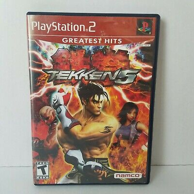 Tekken 5 (Sony PlayStation 2, 2005) PS2 Complete With Manual