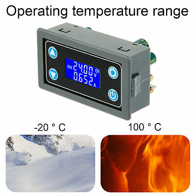 Hot Power Supply Module Adjustable Constant Buck Boost With Lcd Hd Display Us