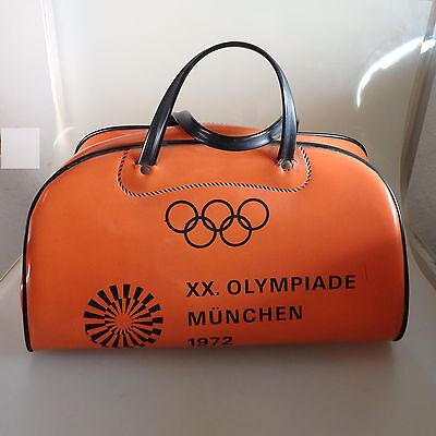 Mehr 70er Jahre geht nicht: Tasche München Olympiade 1972 ORANGE (39680)
