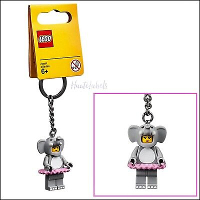 LEGO Minifigure KEYCHAIN Girl in Elephant Costume #853905 / COLLECTABLE / NEW