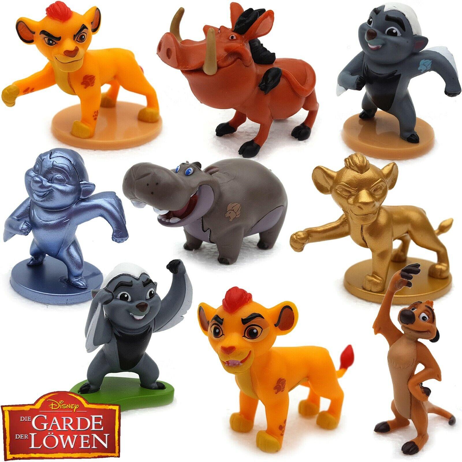 Sammelfiguren König der Löwen Figur Simba Lion Garde Guard Kion Bunga ab 3,90 €