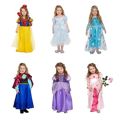 Toddler Princess World Book Day Fancy Dress Girls Dressing Up Outfit NEW