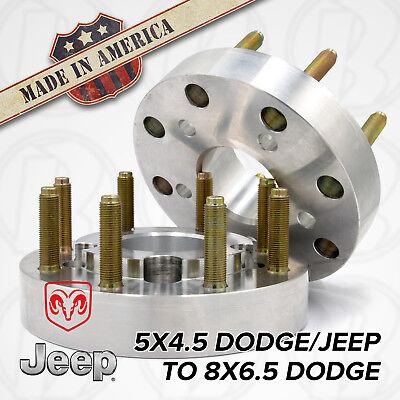 5x4.5 to 8x6.5   5 to 8 Lug   Hub Centric Wheel Adapters / 1