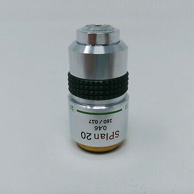 Olympus Microscope Objective Splan 20x