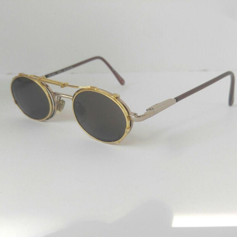 Ambassador Eyewear Kids Eyeglasses PS-804 SDA 43-19-125 W/ Clip On Sunglasses