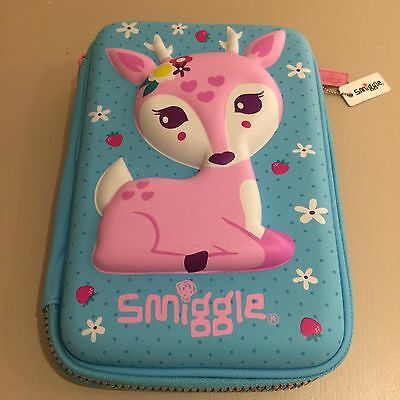 Smiggle Pink Hardtop pencil case - brand new with a tag