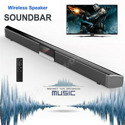Bluetooth Soundbox TV Home Altoparlante Soundbar Wireless Stereo 3D Surround