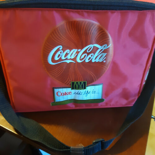 Coke Cola 12 can cooler insulated bag NEW FREE SHIPPING