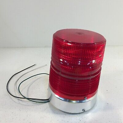 Federal Signal 131st Strobe Light 120vac Red - No Lens Gasket