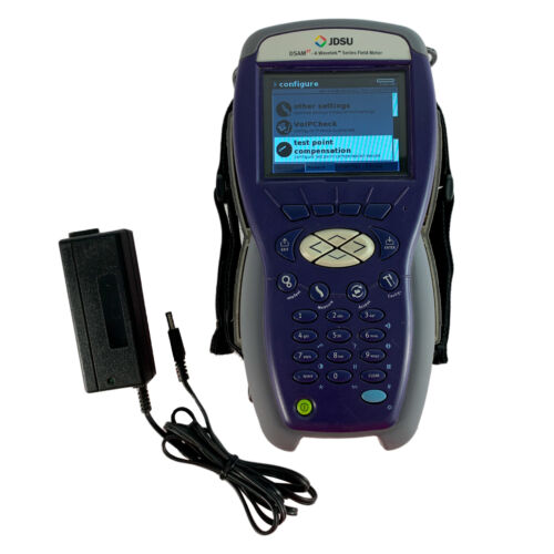 JDSU DSAM-3300 XT Cable Tester/ Signal Meter DOCSIS 3.0 with Charger