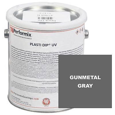 Plasti Dip 1 Gallon Can Uv Concentrate Unthinned Matte - Gunmetal Gray