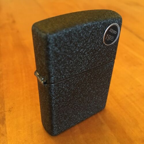 Genuine Zippo classic black crackle windproof Lighter CASE ONLY No Insert/Box