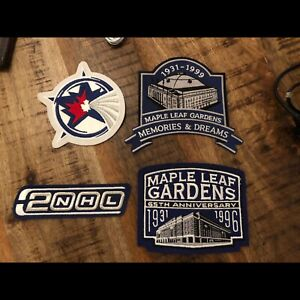 Official Toronto Maple Leaf Patches