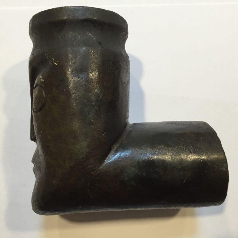 "Early Northwest Coast Stone Pipe ""Man"" Figurine ""Columbia River"""