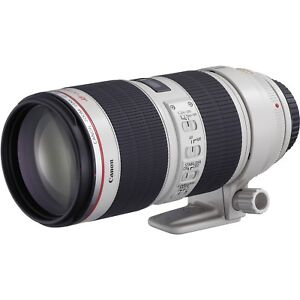 Canon 70-200 f2.8 II + 10 Stop ND Filter