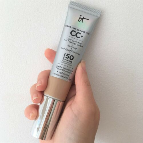 IT Cosmetics Your Skin But Better CC+ Cream Serum FULL COVERAGE LIGHT or MEDIUM
