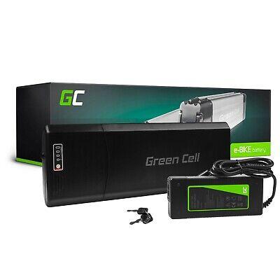 Batería Bicicleta Eléctrica 24V 13Ah EBIKE Li-Ion Rear Rack Batería con Cargador