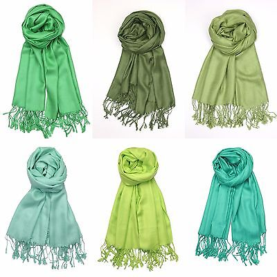 Mint Olive Lime Green Pashmina Scarf Shawl Wrap Evening Wedding Ceremony Outdoor](Lime Green Wedding)