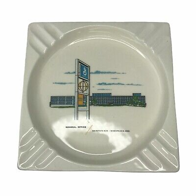 Vintage General Mills Office Employee Ashtray Advertising 60's 70's James G Goff