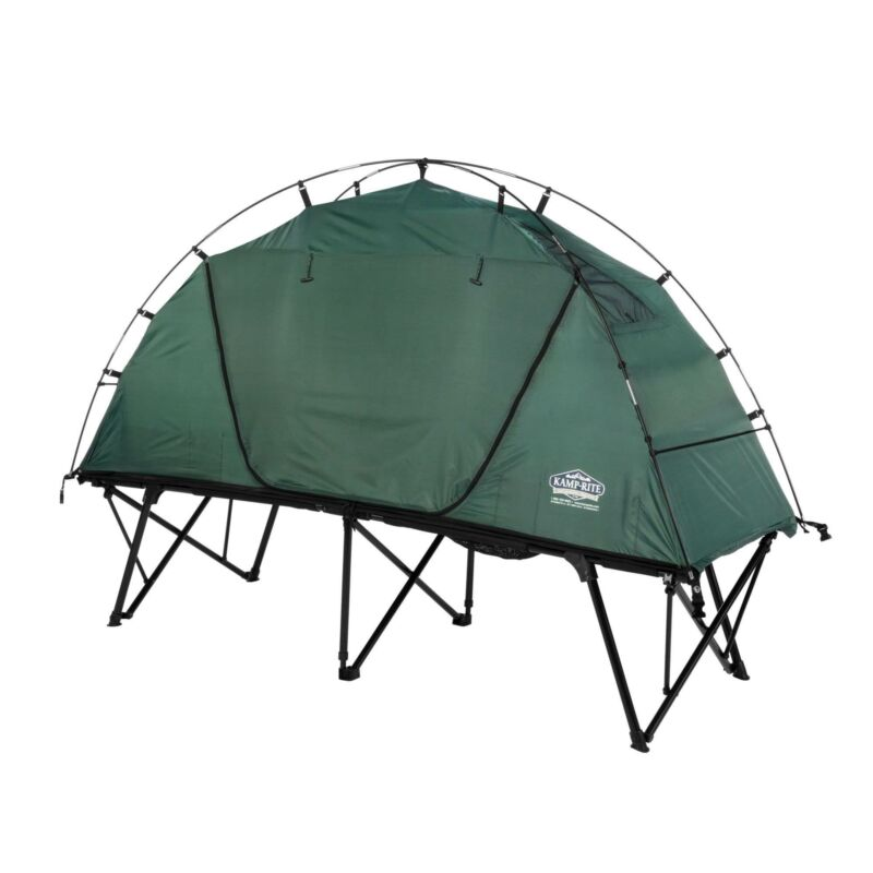 Kamp Rite CTC XL Standard Compact Light Backpacking Camping Tent Cot (Open Box)