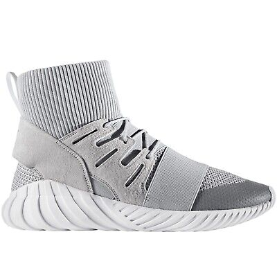 adidas Originals Mens Tubular Doom Winter Casual Midcut Trainers Sneakers - Grey