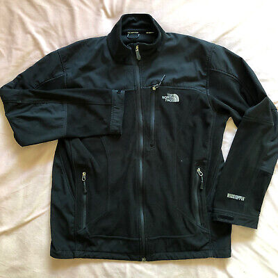 The North Face Fleece Windstopper Black Large Zip Jacket