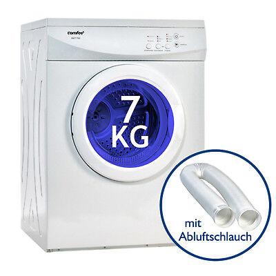 Wäschetrockner Trockner Ablufttrockner Comfee AWT 700 7kg EEK C mit Schlauch ()