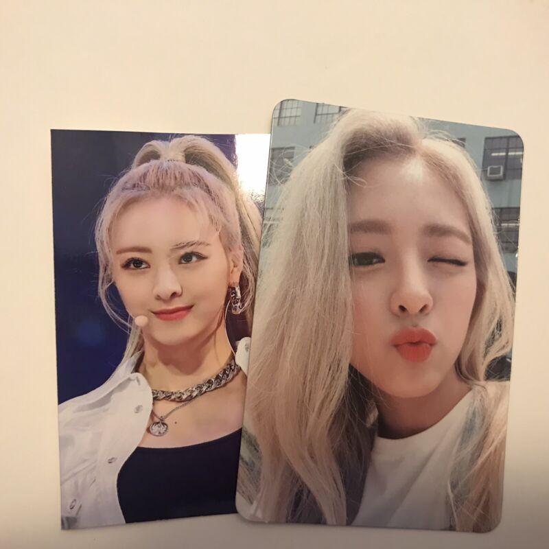 ITZY ICY photocard YUNA