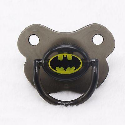 Baby Shower Costume Super hero batman Party Funny Teeth Pacifier dummie PROP
